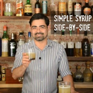 Normal vs Rich Simple Syrup