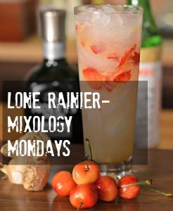 Fresh Rainier Cherries in your next cocktail- Lone Rainier