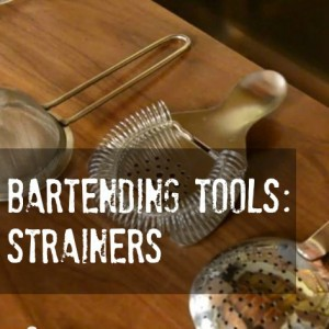 Hawthorne, julep or fine strainer, how to properly use each
