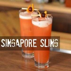 Singapore Sling Cocktail Recipe