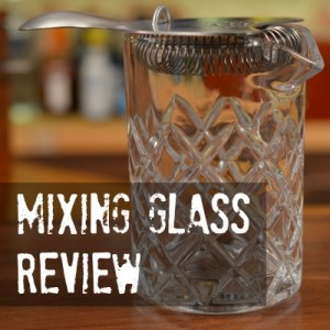 What's the best mixing glass for cocktails?