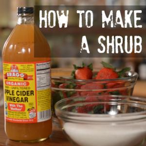 How to make a Shrub cocktail
