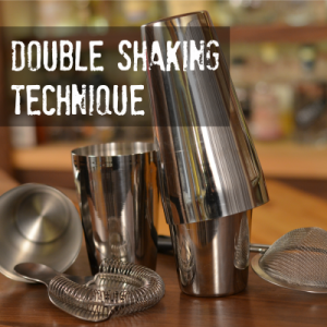 How to Shake Two Cocktails at Once