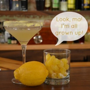 The New & Improved Lemon drop