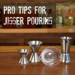 how to pour with a jigger