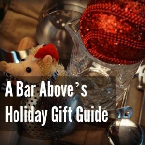 Christmas ornaments and bar tools