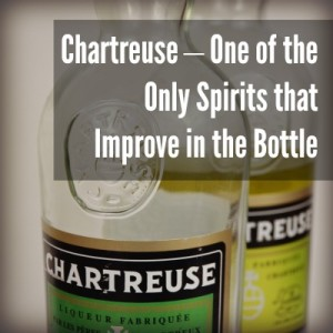 Bottle of Green and Yellow Chartreuse