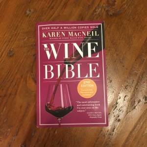 The Wine Bible – A Great bartenders Guide to Wine